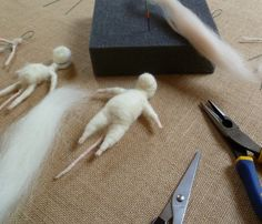 Armature wire shaping wire needle felting wire needle