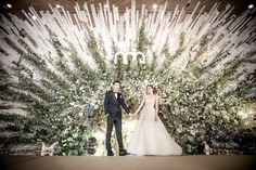 What a stunning entrance unit, stage backdrop or photo backdrop this would make! Wedding List, Wedding Events, Wedding Ceremony, Dream Wedding, Indian Wedding Receptions, Weddings, Wedding Stage Decorations, Backdrop Decorations, Backdrops