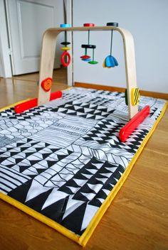 DecoDreamer's Diary: DIY vauvan leikkimatto / DIY baby playmat