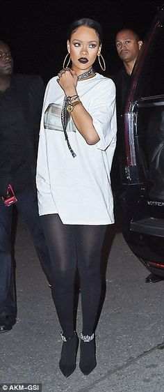 Weekend: Less than 48 hours earlier Cara was out on the same town with Rihanna...