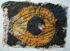I had a recent email from the lovely Mary Jane Dodd . She's been weaving and stitching wondrous airy creations.most notably her mysteri. Textile Fiber Art, Textile Artists, Contemporary Embroidery, Japanese Textiles, Embroidery Art, Fabric Art, Altered Art, Needlework, Weaving