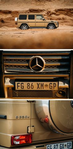 Around the world in a Mercedes-Benz G-Class: extreme athlete and adventurer Mike…