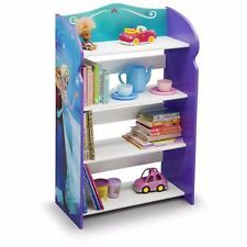 Bookshelf Frozen Kids Room Girls 4 Shelfs Bedroom Furniture Playroom Elsa  New