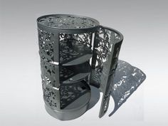 Lace and barrels in furniture  with Metal Handcrafted Furniture Barrel Art