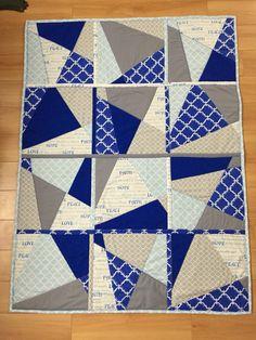 Benjamin's quilt as you go quilt