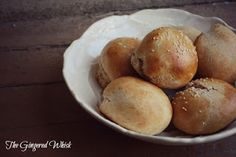 The Gingered Whisk: Quick and Easy Whole Wheat Hamburger Buns
