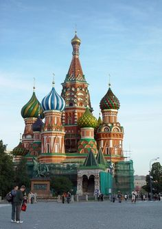 Moscow's Red Square and St. Basil's have always been at the top of my list of travel dreams... someday..