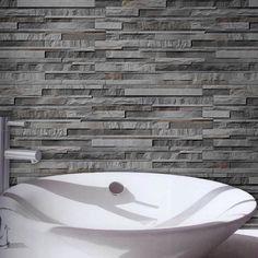 Charcoal Split face Tiles