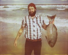 untitled portrait with fish • Joe Nigel Coleman