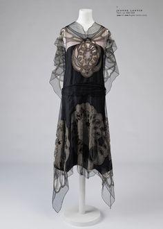 Jeanne Lanvin lace dress, circa 1924.