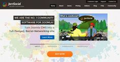 Create your own #socialnetwork with #Joomla and #JomSocial   Social Media, Software, Web on End of Line Magazine