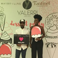 #Dessert #Party with #Fantinel #Prosecco in #Abidjan, #IvoryCoast. Thanks to #Yalerri & #Maybelline NY Afrique!  #wine #winetime #wineoclock #italian #bubbles #celebrate #fashion #lifestyle #excellence #Africa