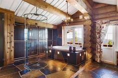 Norwegische Luxus-Hütte