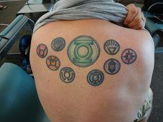 """""""Green Lantern"""" Tattoo"""