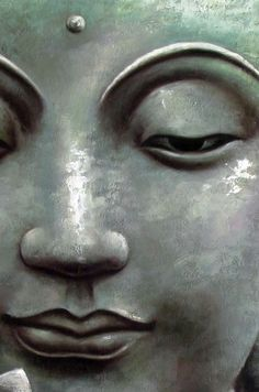 devoted to images of Buddhism. love the feelings of peace they evoke in me. Buddha Face, Buddha Zen, Buddha Buddhism, Sculpture Head, Buddha Sculpture, Meditation, Little Buddha, Spiritual Images, Buddha Painting