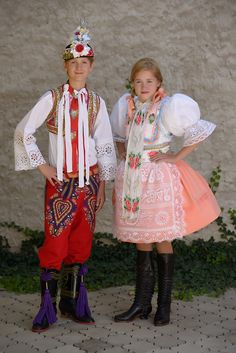 Moravian folk costumes, Czech republic