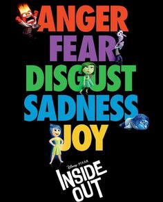 Disney Inside Out, Film Inside Out, Inside Out Characters, Joy Inside Out, Inside Out Poster, Disney Characters, Pixar Movies, New Movies, Good Movies