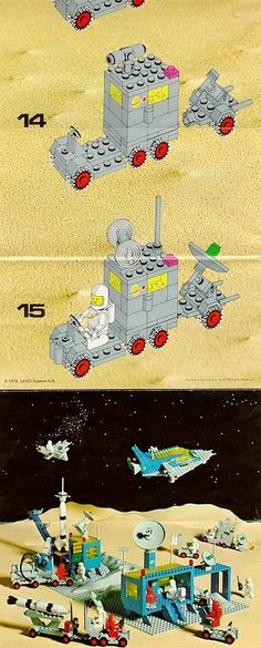 Space - Mobile Tracking Station [Lego 452]