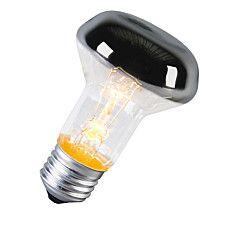 Glühlampe E27 60W kuppenverspiegelt: #Leuchtmittel #glühlampe