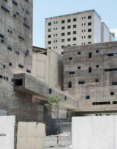 Praça das Artes, São Paulo. [Post Apocalyptic, I presume?] Contemporary Architecture, Concrete Architecture, Gothic Architecture, Architecture Details, Amazing Architecture, Interior Architecture, Sao Paulo Brazil, Alvar Aalto, Brutalist