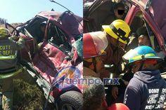 Una camioneta roja volcó en la mencionada rúa, dejando gravemente lesionados a dos adultos (un hombre y una mujer), así como dos menores de edad, una niña de 9 años ...