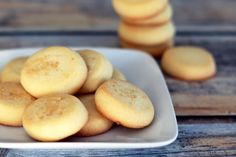Favorite Recipes for Christmas Cookies: Meltaway Butter Cookies
