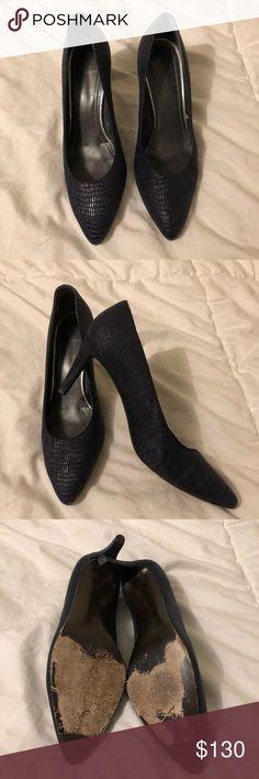 418470f59f4 Stuart Weitzman Leather Classic Platform Heels My Posh Closet