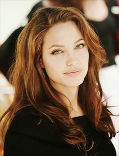 I love you Angelina.... and your hair.