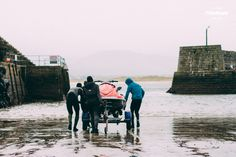 The harbour entrance that faces and jet ski crews before heading out to the monster of Image ~ Toby Butler Surfing Ireland, Emerald Isle, Big Waves, Jet Ski, Surfers, Butler, Entrance, Faces, Image