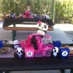 Panda bear birthday party