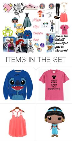 """Happy (Late) Birthday to Bibi"" by xochi-zavala on Polyvore featuring art"