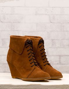 suede ankle boot.