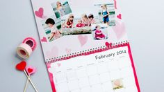 Photo Wall Calendars. Add 12 months of your favorite photos.