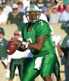 Byron Leftwich, former Marshall quarterback who went to the NFL