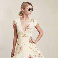 Reformation petite Raquel dress ! NO TRADE Yellow long boho dress ! Reformation Dresses Maxi