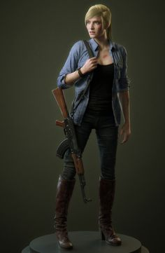 CG character online class demonstration CG角色网络班网络班案例, Chao Dong - This is Pubg Game Character, Character Design, Fantasy Characters, Female Characters, 480x800 Wallpaper, Evil Games, Lovers Pics, Tom Clancy The Division, Anime Outfits