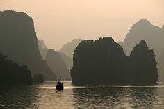 Morning Light over Halong by Julian Kaesler, via Flickr