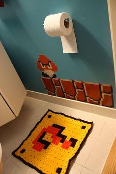 Mario rug