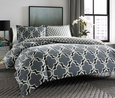 City Scene Brodie Reversible Comforter Set, King