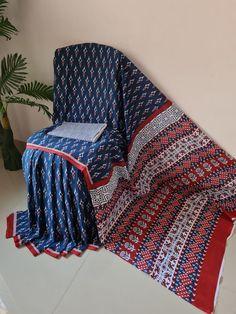 Cotton Sarees Online Shopping, Block Print Saree, Casual Saree, Printed Sarees, Party Wear Sarees, Saree Styles, Printed Cotton, Fabric, Prints