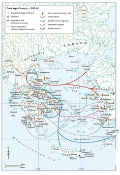 26 Best Maps & Charts of Ancient Greece images