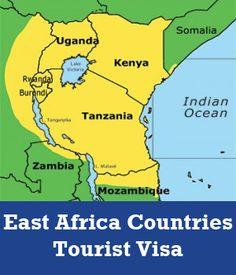 EAC Visa Tanzania, Kenya, East Africa, Uganda, Ocean, Country, Travel, Viajes, Rural Area