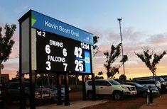 Kevin Scott Oval scoreboard (@DanthoniaDesign) | Twitter