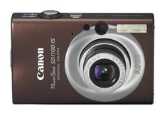 Canon PowerShot SD1100IS 8MP Digital Camera with 3x Optical Image Stabilized Zoom Brown -- ** AMAZON BEST BUY **