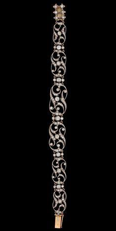 Edwardian diamond bracelet
