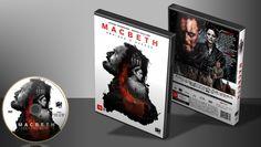 Macbeth - Ambição E Guerra - Capa | VITRINE - Galeria De Capas - Designer Covers Custom | Capas & Labels Customizados