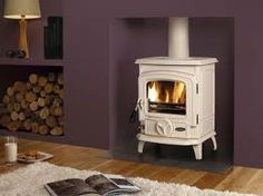 cream woodburning stove - Google Search