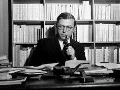 Jean-Paul Sartre (1905 – 1980) fue un filósofo, escritor, novelista, dramaturgo, activista político, biógrafo y crítico literario francés, exponente del existencialismo y del marxismo humanista. Fue el décimo escritor francés seleccionado como Premio Nobel de Literatura, en 1964, pero lo rechazó.