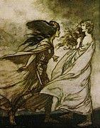 "New artwork for sale! - "" Twilightgods by Arthur Rackham "" - http://ift.tt/2patOvx"