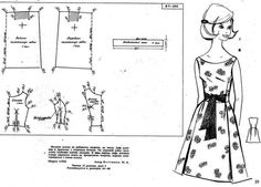 DIY Vintage 50s Dress - FREE Sewing Pattern Draft